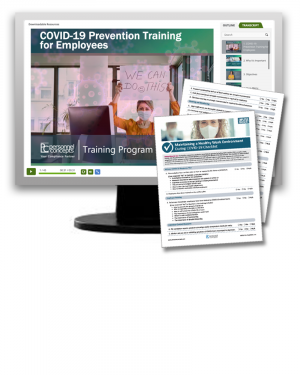 COVID-19 Prevention Training for Employees (eLearning Module)