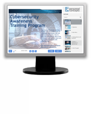 Cybersecurity Awareness Training Program  (eLearning Module)