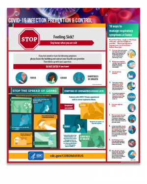 COVID-19 Infection Prevention & Control Poster