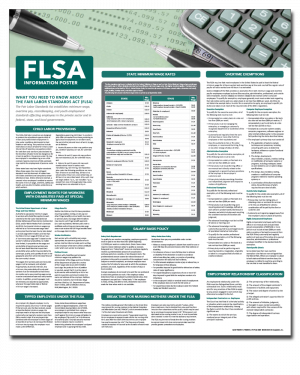 All-On-One FLSA Compliance Poster