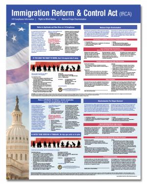 All-On-One Immigration Reform & Control Act Poster