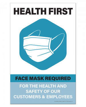 Mask Required Poster