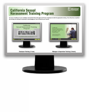 California Sexual Harassment Training Program (eLearning Module)