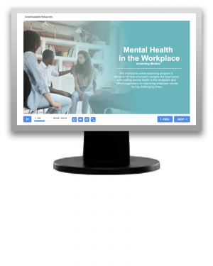 Mental Health in the Workplace (eLearning Modules)