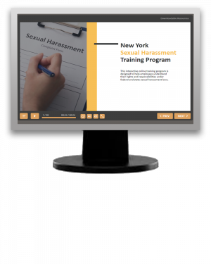 New York Sexual Harassment Training Program (eLearning Module)