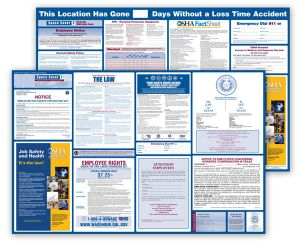 Wyoming  Labor  Law  and  OSHA  Safety  Posters  Bundle